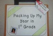 First Grade, May. / by Cassandra Perish