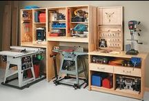 Tool Shed / Ways of storing, presenting and hoarding tools for making all the furniture and kids stuff I have listed on Pinterest. I am going to be busy!