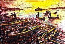 my istanbul / #artwork #fineart #canvas #acrylic #pastel   #paintings #paint #painting #draw #drawing #oilpainting #oilpaint  #resim #ressam #sanat #youtube #video #clip #vid  #artstudio #studio #tools #brush #palette #istanbul #boğaziçi #bosphorus #portrait #portraitart #portre #figure #hands #eyes #woman #mother #watercolor #watercolors #watercolour #charcoal #charcoalart #sketch #karakalem #exhibiton #interior #içmekan #artdrawing #artofdrawing #serdarabay #serdar_abay #selfportrait #artist