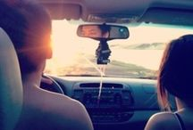 """Road Trips / """"I travel a lot; I hate having my life disrupted by routine."""" from Caskie Stinnett / by Marianne Krivan"""