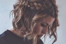 Hairstyles / Hairstyle and hair color inspiration
