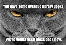 High School Library / Ideas for programs, decorations, and some library funnies! I have the best job in education.  Love what I do, but someone may need to remind me during inventory! / by Janet Glover