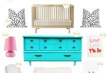 Baby room ideas / by Nicki Solem