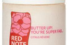 CITRUS REVERIE / Citrus Reverie fragrance collection: Sweet Rose Milk Soap, Gentle Exfoliating Sugar Scrub, Lotion Potion No. 9, Ooh la la creme whipped souffle creme, Butter Up! You're Super Fab.. uber-rich body butter, and le cube de parfum solid perfume