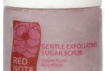 SUGAR PLUM MOUNTAIN / Sugar Plum Mountain fragrance collection: Sweet Rose Milk Soap, Gentle Exfoliating Sugar Scrub, Lotion Potion No. 9, Ooh la la creme whipped souffle creme, Butter Up! You're Super Fab..uber-rich body butter, and le cube de parfum solid perfume