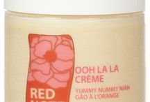 YUMMY NUMMY NIAN GAO A L'ORANGE / Yummy Nummy Nian Gao a l'Orange fragrance collection:  Sweet Rose Milk Soap, Gentle Exfoliating Sugar Scrub, Lotion Potion No. 9, Ooh la la creme whipped souffle creme, Butter Up! You're Super Fab...uber-rich body butter, and le cube de parfum solid perfume