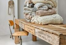 Wonderful in Wheat / The colors of fall fashion in home décor done right.