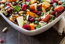 Salad, Salad, Salad / Healthy, nutritious (and delicious!) salad recipes / by Susan Bronson | A Less Processed Life