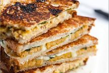 Grilled Cheese / Take same bread, melt some cheese, mix in something fun, and you've got a delicious grilled cheese sandwich.