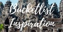 Bucketlist Inspiration for Travellers / Inspiration for future travels and activities all over the world, bucket list inspiration, bucketlist inspiration for travellers, pins that inspire me, destination inspiration, travel tips.