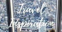 Travel Inspiration / This is a board for travellers to share any Travel Inspiration. For every pin you add to this board, you must re-pin one of the board. Only vertical pins please. If you would like to be a collaborator for this group board, send me a message or e-mail to info@chaptertravel.com.