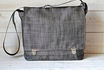 For Men and women so UNISEX / by IKABAGS Handmade bags Purses