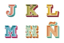 Lettering / by Dominic Irons