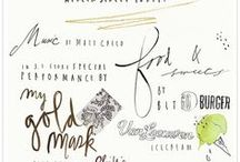 Fonts / by Michelle Clark