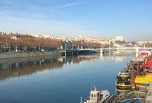 Lyon / Ici et la .... Au fil des balades ...