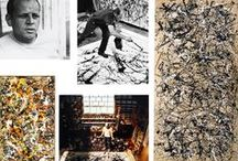 JACKSON POLLOCK / by Sherry Byrd