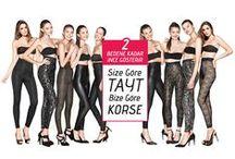Basic Corset Collection (Outfit/Dış Giyim) / (TR) TEN Yeni Nesil Korse Kumaşı kullanılarak üretilmiştir. 2 Bedene kadar incelten özel  kumaşı ile günlük kullanıma uygun ve rahattır. Dış giyime uygun tasarlanmıştır.  (EN) It is produced using the TEN New Generation Corset Fabric. Suitable for daily use and comfort with at least by 2 size slimming special fabric. It is designed for outfit.