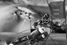 `Alpine skiing