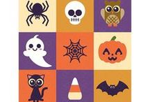 Cute Halloween Graphics / Cute Halloween icons from various artists.