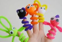KIDS CRAFT IDEAS / Crafts for Kids!  Fun and creative kids crafts and activities for toddlers, preschoolers kindergarten, ESL and children with special needs . These things to make are perfect for homeschool and classroom. / by The Kiboomers