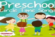 KIDS SONGS / Kids songs with song lyrics. Learning songs, nursery rhymes, lullabies for babies and children's music for toddlers, preschool, kindergarten, ESL learners and children with special needs.  #preschool #kindergarten #toddler #kidssongs #esl / by The Kiboomers