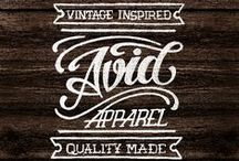 typography <3 / by CRAFTED | DIY+HANDMADE + INTERIORS