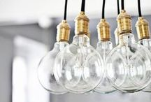 All of the lights / Brilliant Lighting Options for your Home / by CRAFTED | DIY+HANDMADE + INTERIORS