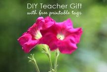 Teacher Appreciation / Ideas for gifts to give and crafts to make for the teachers we love. / by Marie : Make and Takes