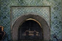 Fireplaces / by Terrie Hall T. Hall Interiors