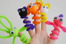 Pipe Cleaners / All sorts of ideas to play and craft with pipe cleaners. / by Marie : Make and Takes