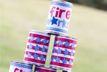 July 4th Fun / Fun crafts and party ideas for the 4th of July! / by Marie : Make and Takes