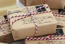 Creative gift wrapping ideas / by Crafted