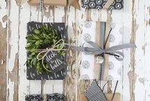 GIFT WRAPPING / Creative gift wrapping ideas / by CRAFTED | DIY+HANDMADE + INTERIORS