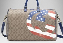 Election Selection / Whether you are red or blue, 2012 is a big year for us here in the US of A!  It doesn't matter what side you are on- here are some great bags to wear at your guy's rally or fundraiser!