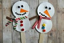 WINTER THEME / Winter for Kids!  Winter crafts, recipes, printables and activities for toddlers, preschool and kindergarten, ESL and children with special needs. Perfect for home school and classroom! / by The Kiboomers