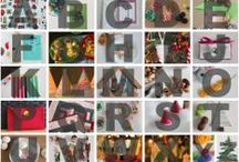 Holiday ABC's / by Marie : Make and Takes