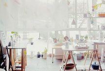 Art Studio / Space / by Meredith C. Bullock