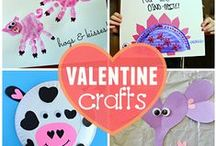 VALENTINE'S DAY FUN / Kids Valentines!  Fun and easy activities for #Valentine's Day including kids crafts, recipes and other great printables for preschool and kindergarten. Perfect for homeschool or classroom! / by The Kiboomers