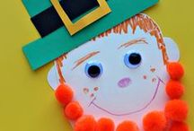 ST. PATRICK'S DAY FUN / Activities and ideas for Saint Patrick's Day.  Sharing the best St. Patrick's Day crafts, snacks, food, activities for toddlers, preschool and kindergarten.  Perfect for a St. Patrick's Day theme at home or in the classroom. / by The Kiboomers