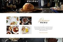 Wordpress Themes / Lots of wordpress themes and templates for one page and multi page designs. Mostly food, photography, portfolio, agency and product design.