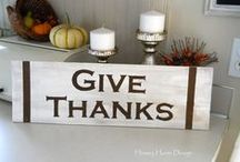 Fall decor ideas / All things warm and cozy in fall decor.
