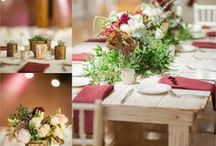 Reception & Tables / Linens, table numbers, flowers, details, etc. that will go prefect on the 2nd floor for dinner at Mavris.
