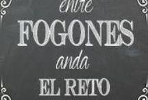 Entre fogones anda el reto / Retos gastronómicos  / by Cocinando con Neus
