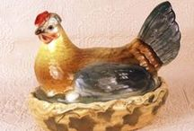 Hen & Rooster On Nest / by Rosemary Brown Sample