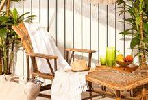 BEACH & TERRACE SS14 / #outdoor #swimwear #terrace #deco #picnic #beachcollection / by Zara Home