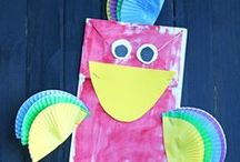 Make and Takes Kids Crafts / Fun and free kids craft ideas that are simple and easy to make! Get crafting with your kids!