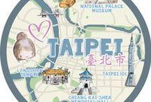 City Map Illustrations / Illustrierte Stadtpläne