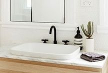 Bathrooms / Bathroom design ideas / by CRAFTED | DIY+HANDMADE + INTERIORS