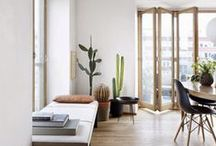 Living // Dining / Ideas for Living Rooms and Dining Rooms / by CRAFTED | DIY+HANDMADE + INTERIORS