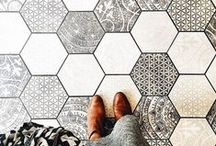 Surface / Beautiful surface design. / by CRAFTED | DIY+HANDMADE + INTERIORS